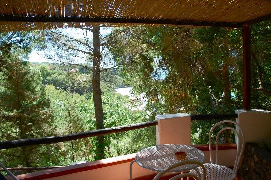 Villaggio Alberghiero Cala d'Arconte : Bungalow panoramico