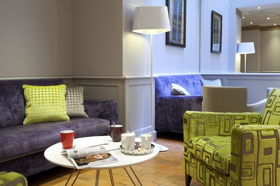Mercure Paris Notre Dame Saint Germain des Pres : Le hall