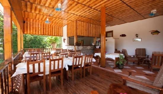 Villa Anse La Blague: Restaurant