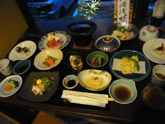Mount View Hakone: 夕飯