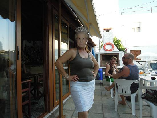 Hotel Costas Mary : Mary is great fun