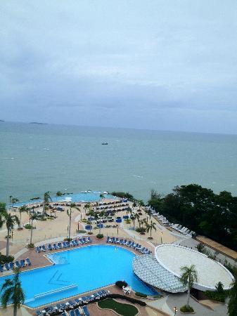 Royal Cliff Beach Hotel : sea view room