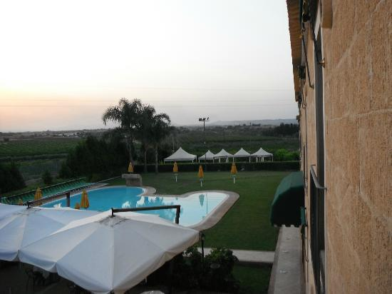Il Podere Hotel: great views over the surrounding countryside