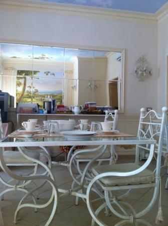 Giardino Segreto: sala della colazione