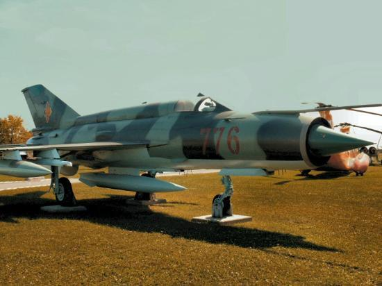 National Air Force Museum of Canada: Russian MIG 21