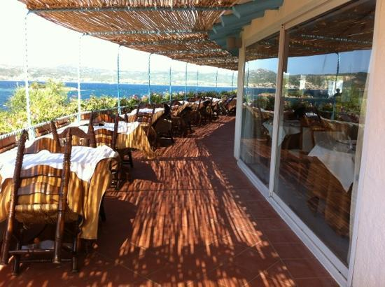 Park Hotel Resort: Terrazza sala pranzo.
