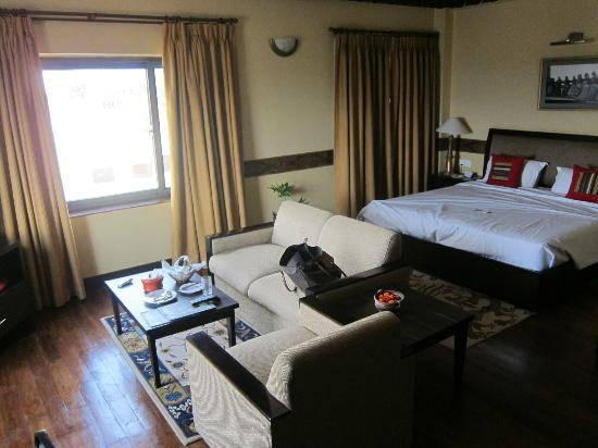 Hotel Tibet International: Room by day