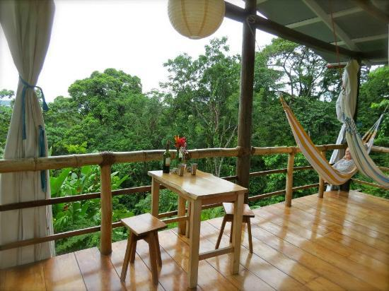 La Loma Jungle Lodge and Chocolate Farm: Our casita.