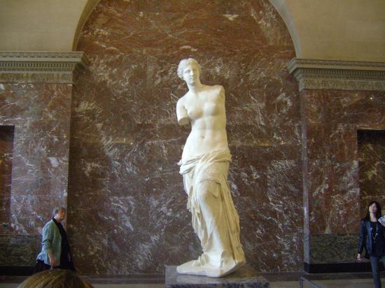 Museo del Louvre: la venere di milo