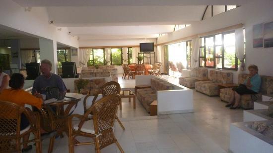 Tigaki Beach Hotel: Lounge hotel Tigaki Beach