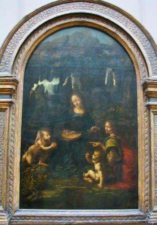 Museo del Louvre: Da Vinci, la vergine delle rocce