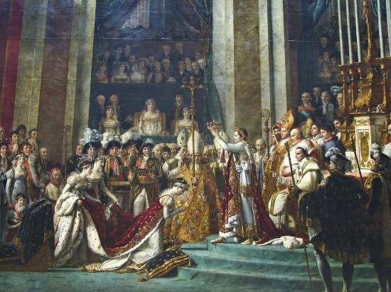 Museo del Louvre: Louis david, inconorazione di Napoleone