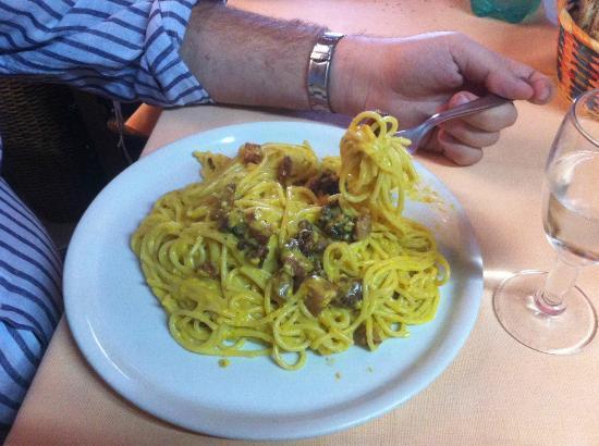 Trattoria Del Borgo: Carbonara Spaghetti