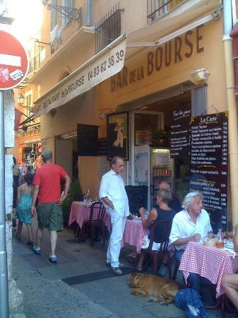 Cafe Restaurant De La Bourse Nice France