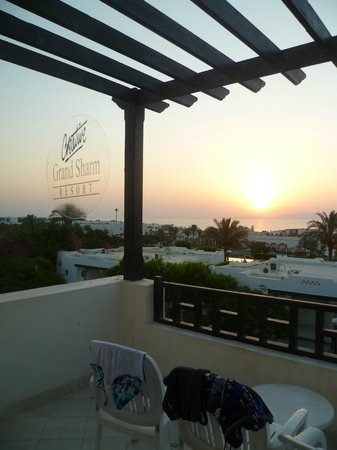 Poinciana Sharm Resort & Apartments: вид с балкона