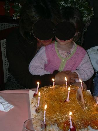 Fleur de lotus: Gateau anniversaire