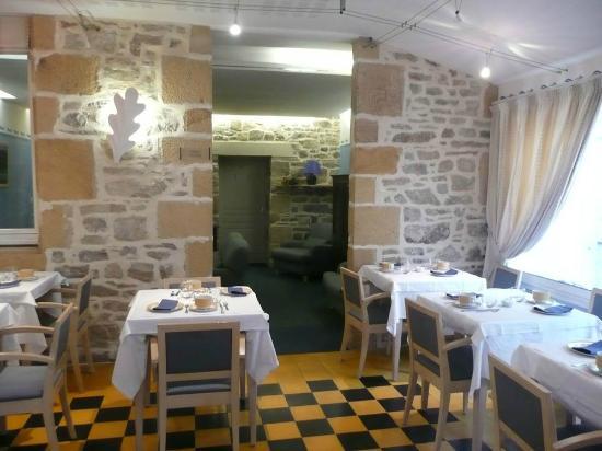 Hotel de la Presqu'ile : Salle de petit déjeuner