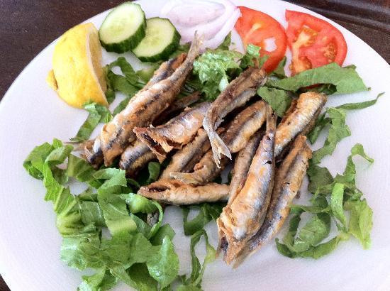 Taverna Dionysos : sardines