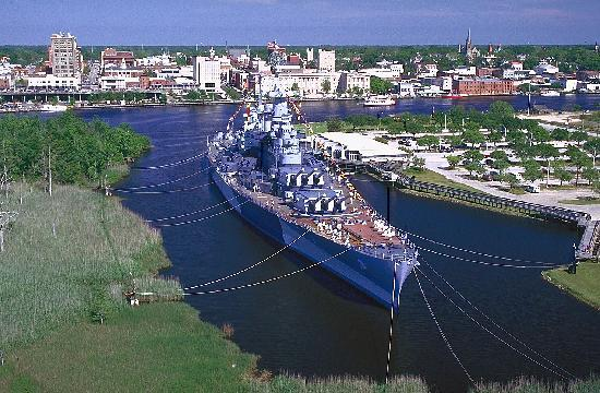Wilmington, Carolina del Nord: Battleship NORTH CAROLINA