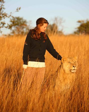 Gweru, Zimbabwe: Walk with Lions at Antelope Park, Zimbabwe