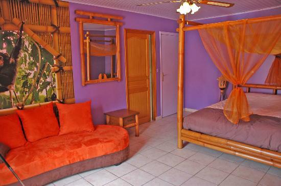 Domaine Bacchus : Chambre Exotique