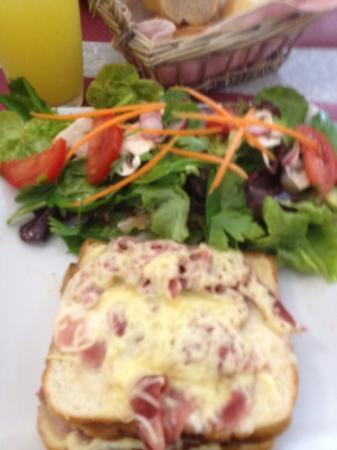 L'Acanthe : le croque monsieur salade