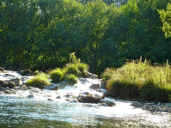 Casa do Rio Vez: la rivière
