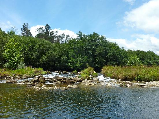 Casa do Rio Vez: la piscine naturelle