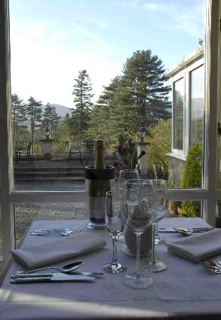 The Coach House Restaurant at Ravenstone Lodge : View