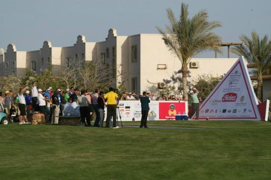 Stella Di Mare Golf Hotel, Ain Sukhna: Ronan Rafferty in Longest Drive