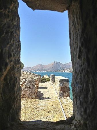 Elounda, Greece: scorcio