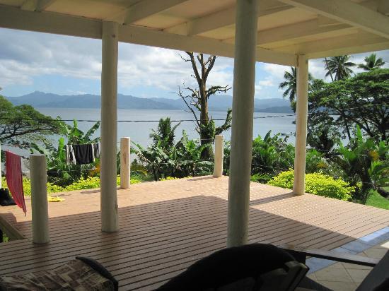 Daku Resort: View from our Bure terrace