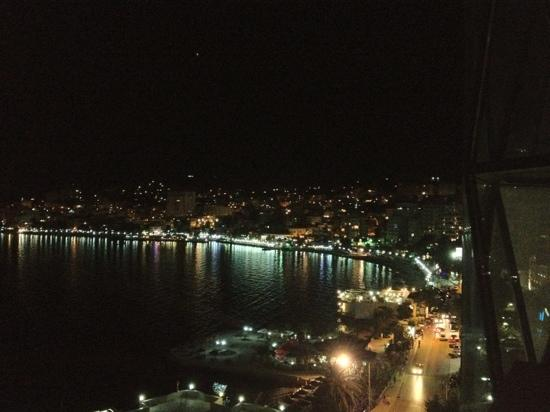 Saranda by night @ Hotel Brilant