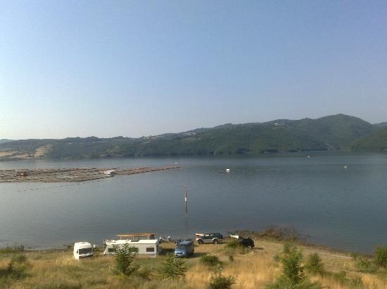 Hotel Orenda: lake view from my room