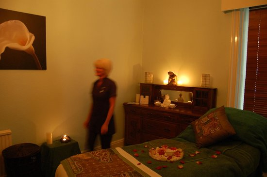 Alexandra House Spa: Treatment room