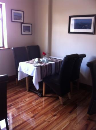 Fort Conan Hotel Duncannon: breakfast room