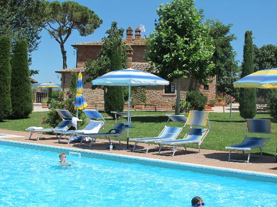 Villa Rosa dei Venti: Great place to relax after day trips to various hill towns!