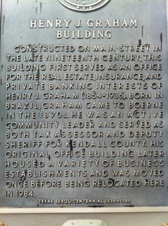 Kuhlmann-King Historical House: historic site marker