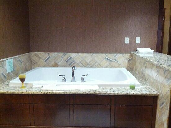Holiday Inn Jackson NW - Airport Rd: Whirlpool tub in our room