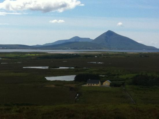 Ballycroy National Park: view from top