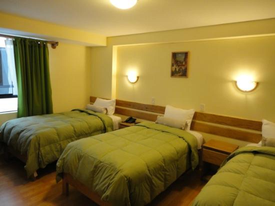 Florida del Inca Hotel: Habitación Triple