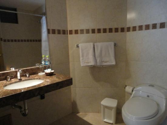 Florida del Inca Hotel: Vista del baño