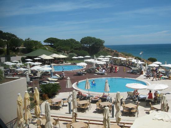 Grande Real Santa Eulália Resort & Hotel Spa : piscines