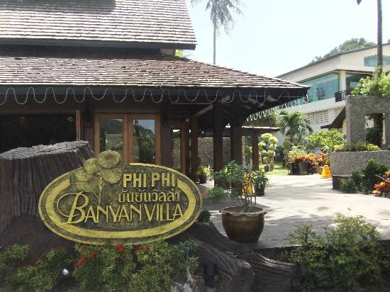 Phi Phi Banyan Villa: Only this is the best 'sight' in the whole of the hotel