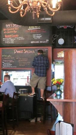 The Driftwood Publick House: Daily specials