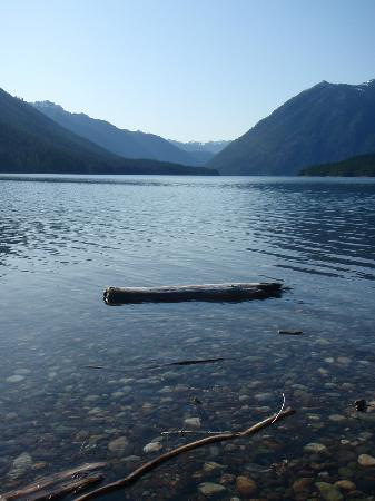 Skokomish Park at Lake Cushman: View of the valley