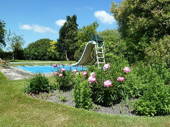 The swimming pool picture of mayfield bed breakfast for Swimming pool bed