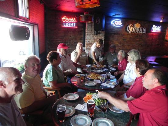 Anchor Inn Restaurant & Bar: Lions Club awards dinner June 2012
