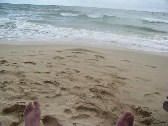 Otres Beach: You can't get much closer to the sea than this