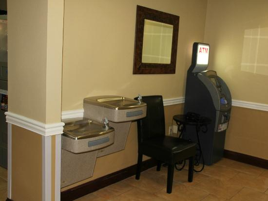 Atm In Hotel Lobby Picture Of Holiday Inn Express